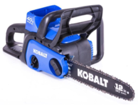Chainsaws Cordless Sold By Lowe's Are Being Recalled Due Laceration Hazard to