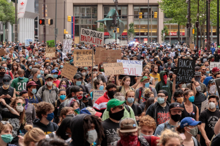 Protests in Philadelphia Following Death of George Floyd 5-2020