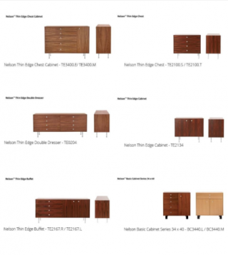 Herman Miller and Design Within Reach Dressers Recalled Due to Tip-over Hazard