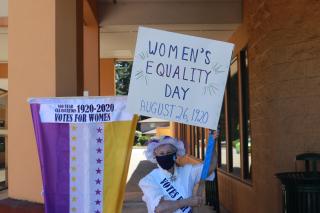 Cynthia Pratt Women's Equality Day 8-26-20
