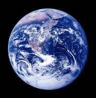 Earth Day Photo of Earth With a Black Background