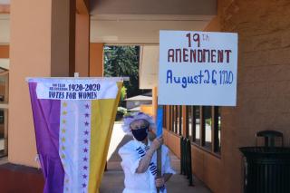 Cynthia Pratt 19th Amendment Signed 8-26-2020