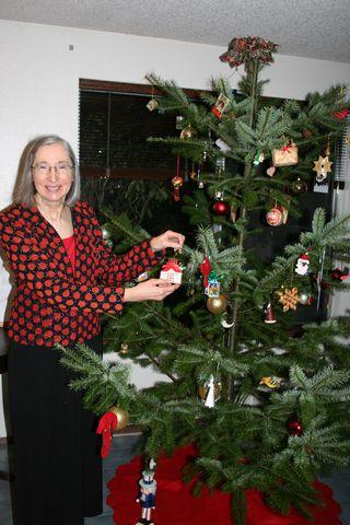 Rita and Christmas Tree