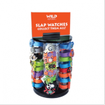 Slap watches are being recalled by K & M International due to coin cell battery ingestion and choking hazards
