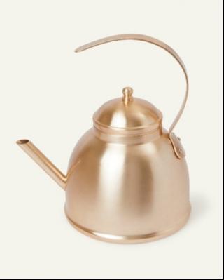 Brushed Gold Tea Kettles Recalled by Grama Due to Burn Hazard