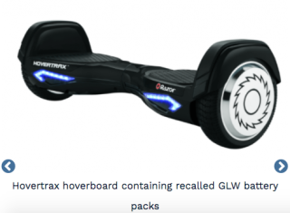 Razor Recalls Hoverboard Battery Packs 9-12-21