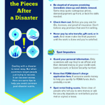 Watch out for scams after a disaster strikes