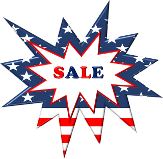 Memorial Day sales-A Star That Says Sales in Red  White  and Blue-1336000_640